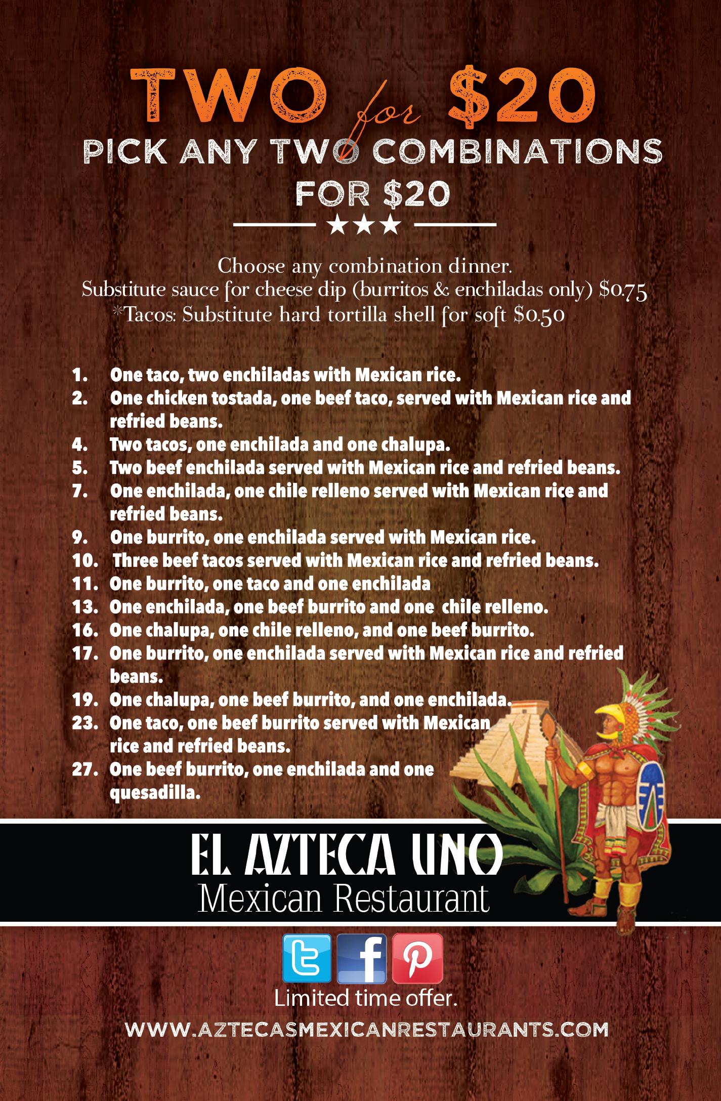 El Azteca Uno Mexican Restaurant
